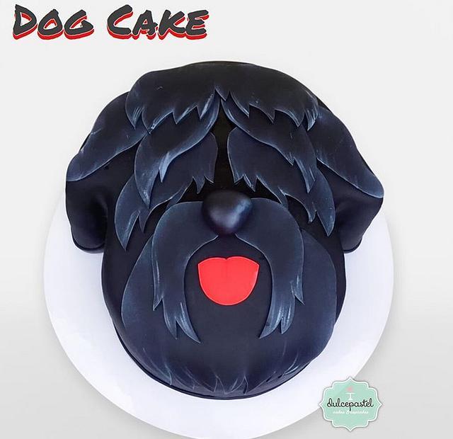 Torta Black Russian Terrier Medellín
