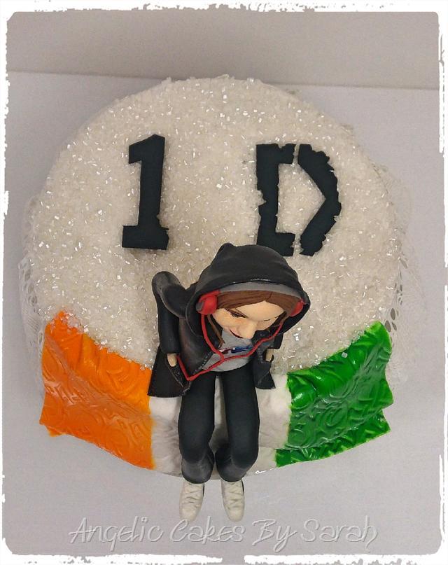 1D Fan Girl Cake
