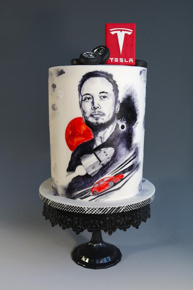 Incredible Mens Birthday Cake Cake By Tomima Cakesdecor Personalised Birthday Cards Paralily Jamesorg