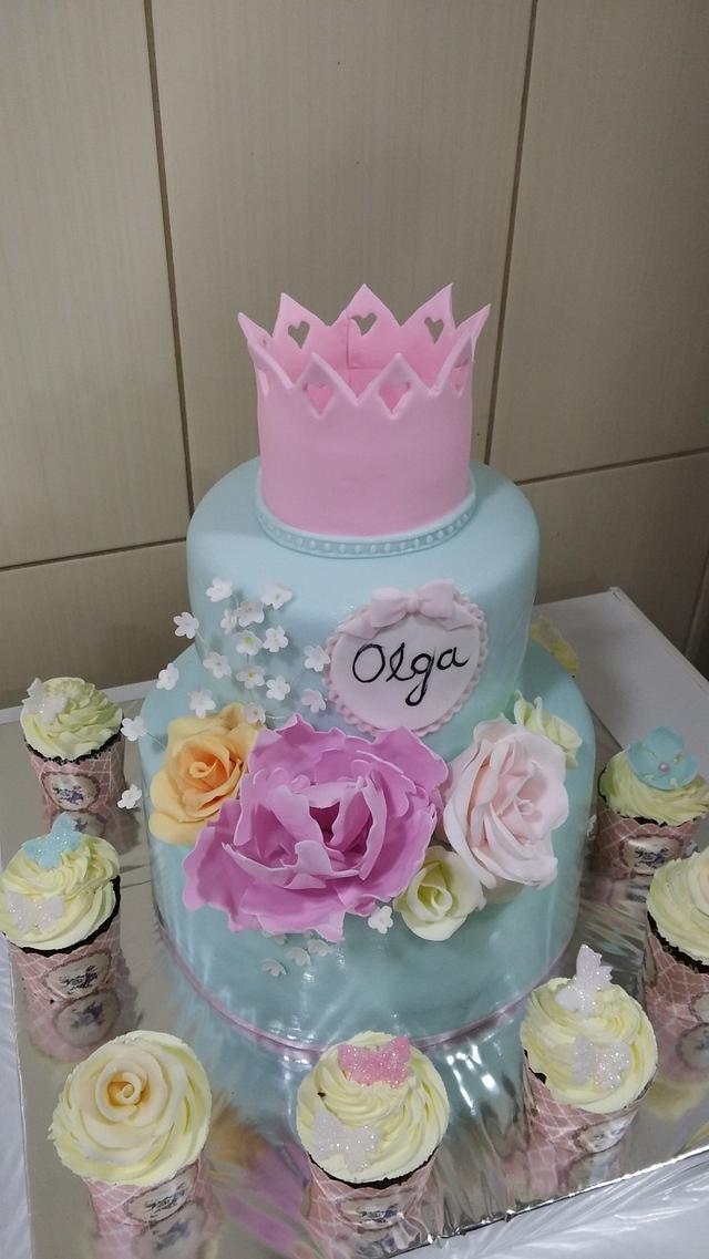 Cake for little girls