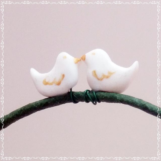 Wedding cake : Lovebirds ❤