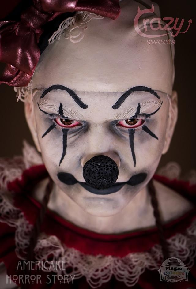 Clown Bust - Americake Horror Story Collab