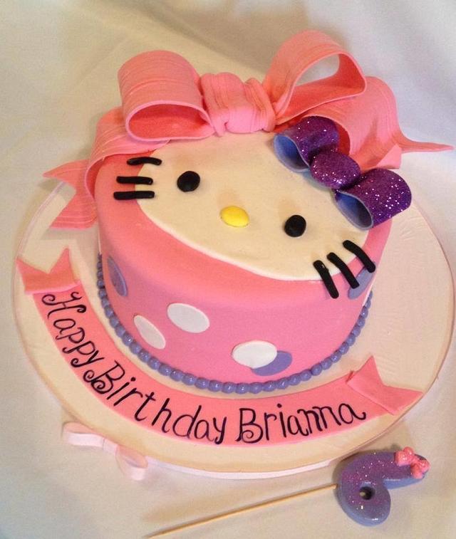 Hello Kitty Birthday Bow