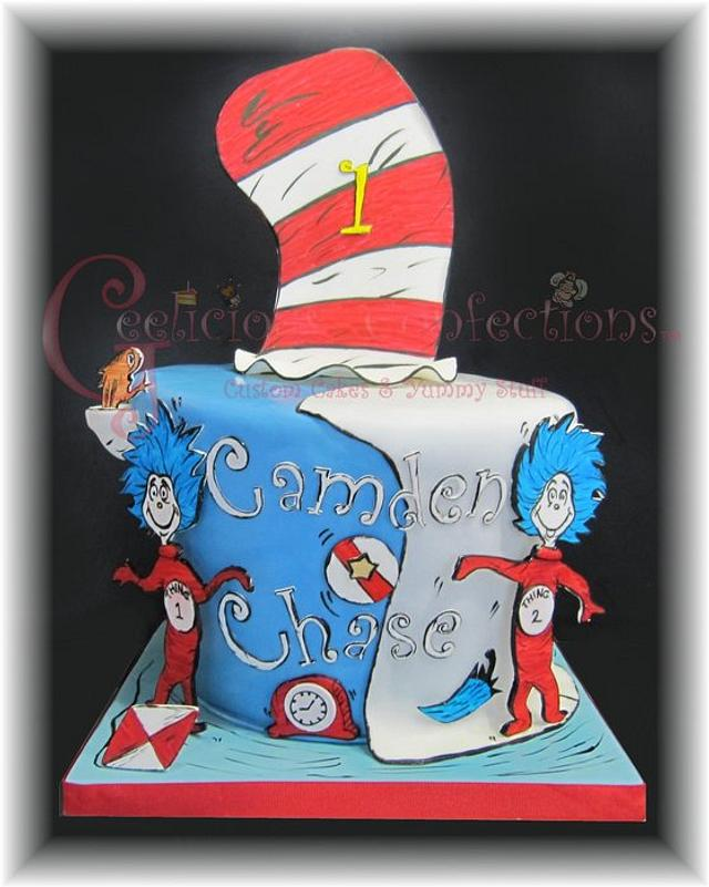 Thing 1 & Thing 2 Themed Birthday
