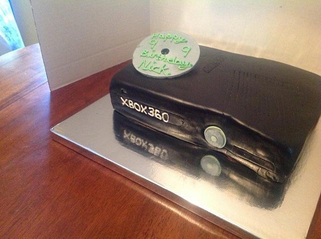 Black Xbox Birthday Cake