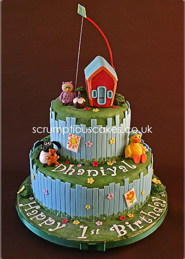 Timmy Time Birthday Cake