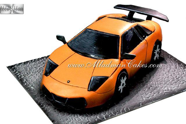 Lamborghini 3D Cake
