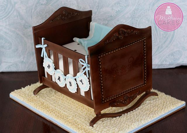 Antique Cradle Cake