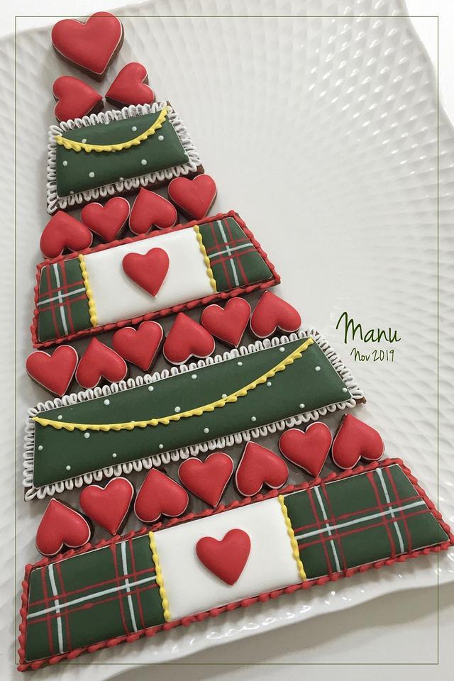 Christmas Cookie Platter 2019