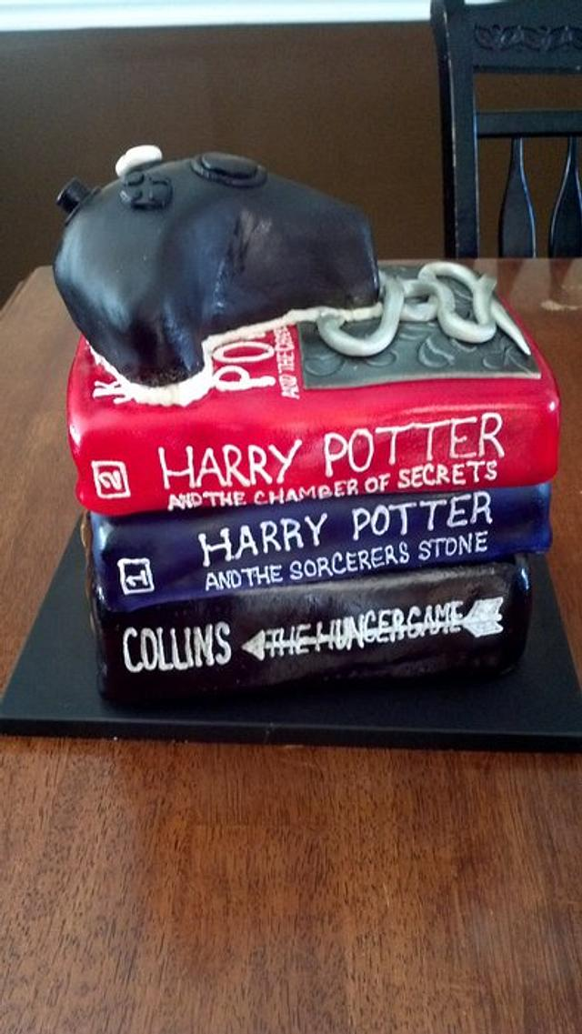 Harry Potter X Box Cake