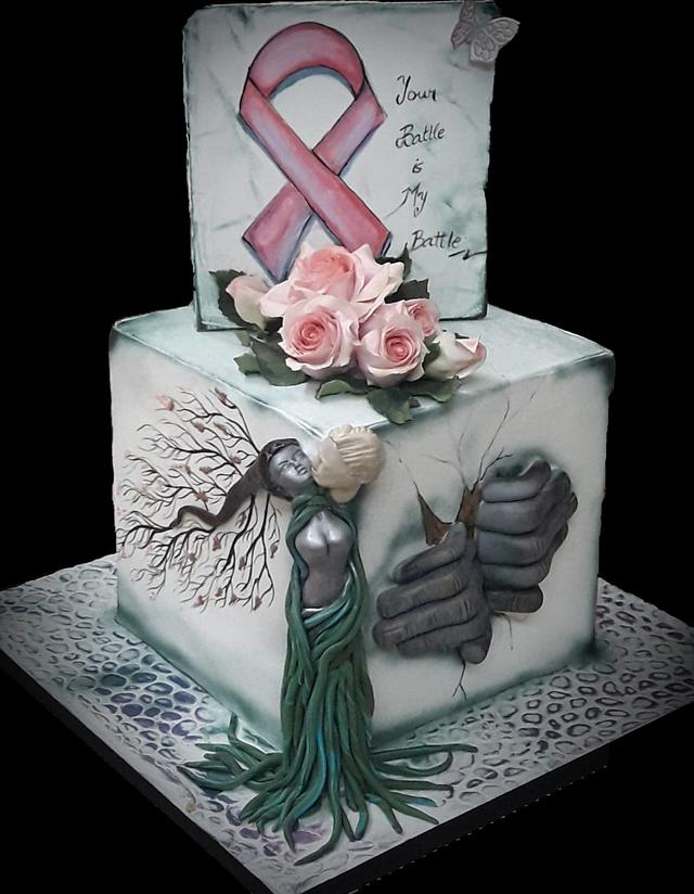 Kiss Of Life - World Cancer Day 2019 Collaboration & Sugarflowers and Cakes in Bloom.