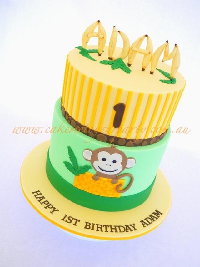 Miraculous Cheeky Monkey 1St Birthday Cake Cake By Leah Jeffery Cakesdecor Funny Birthday Cards Online Kookostrdamsfinfo
