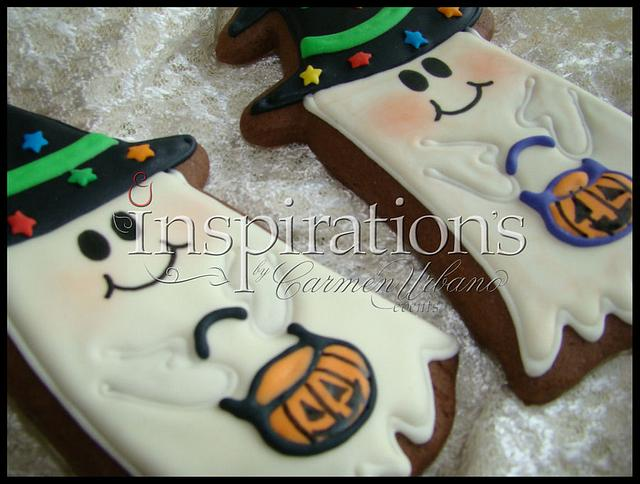 Inspiration's Spooky cookies Chocolate Ghost