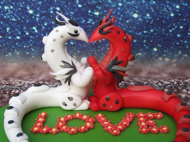 Dragon Love for Valentine Collaboration