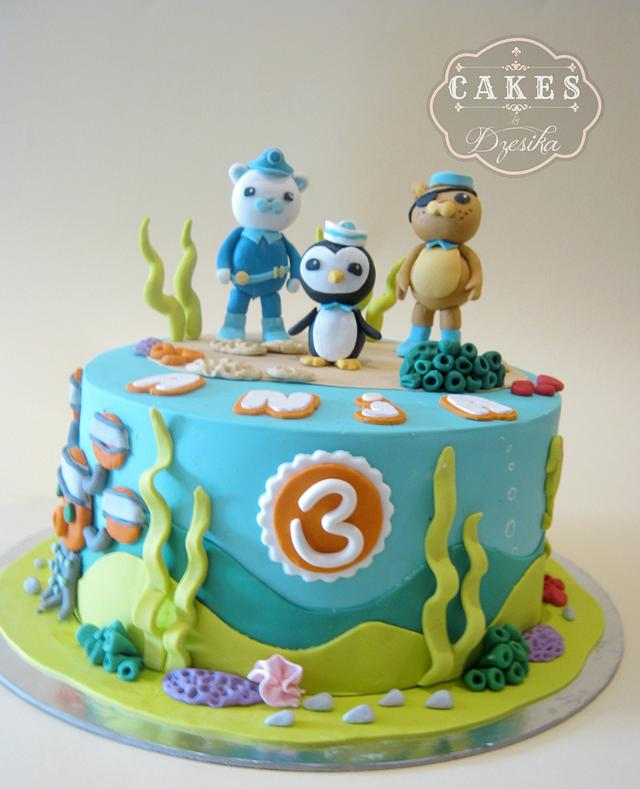 Octonaut cake
