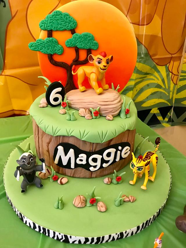 Lion Guard Cake By Ellie1985 Cakesdecor