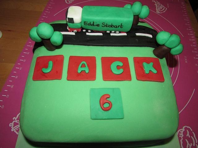 Eddie stobart truck cake