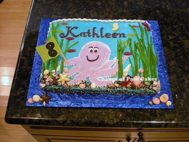 Astounding Kathleens 8Th Birthday Cake Cake By Changeofpacecakes Cakesdecor Personalised Birthday Cards Veneteletsinfo