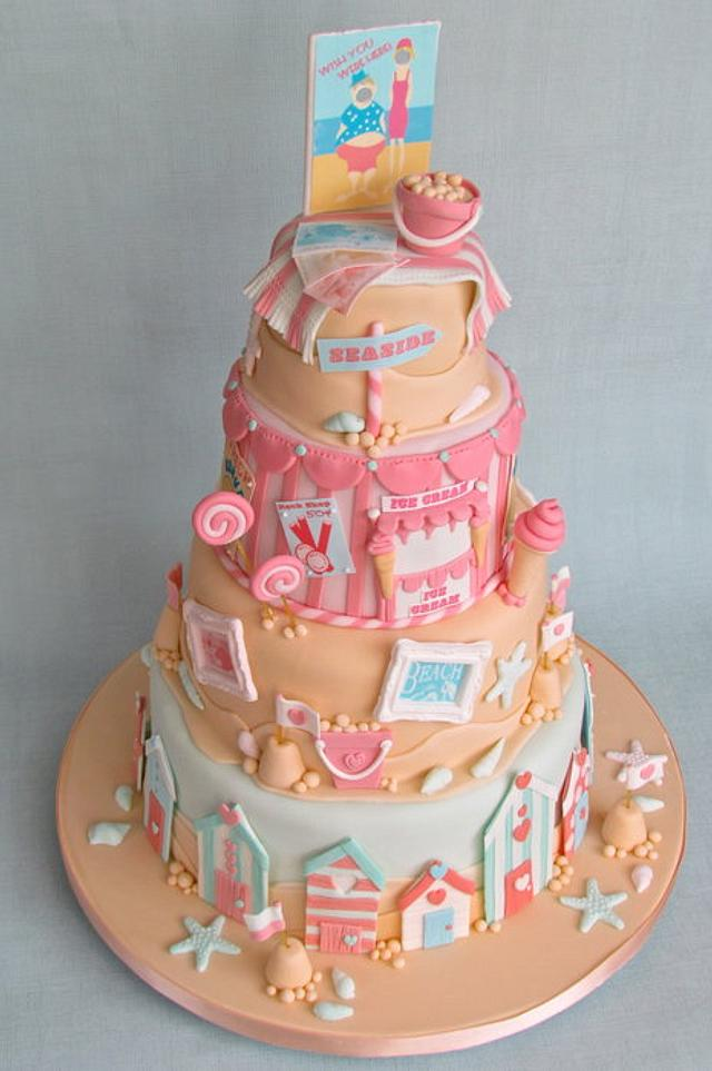 Edible Beach Cake
