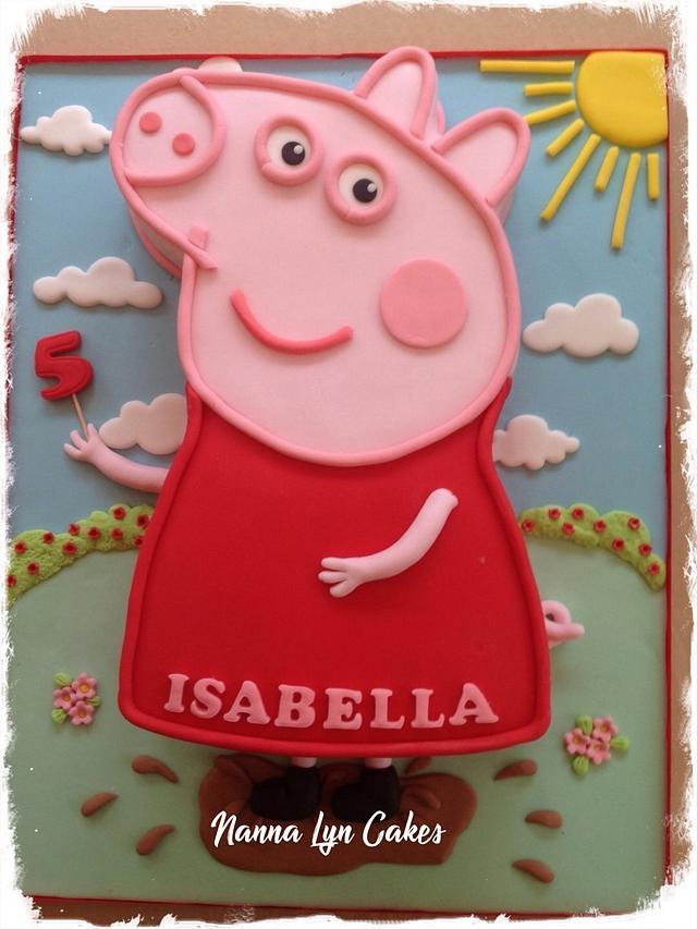 Cool 5Th Birthday Cake Cake By Nanna Lyn Cakes Cakesdecor Funny Birthday Cards Online Necthendildamsfinfo
