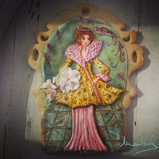 The Lady of the Ramblas (Barcelona)