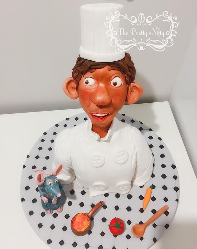 Remy Linguini Cake By Edelcita Griffin The Pretty Cakesdecor