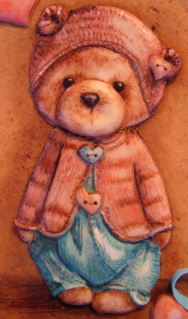"Cookie -"" My dear bear"""