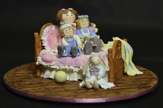 Rag dolls sugar craft