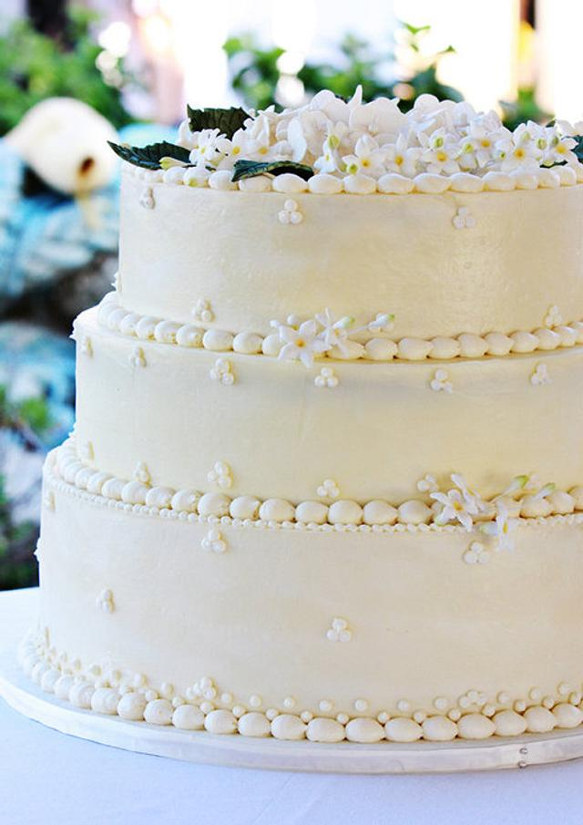 Greek wedding cake