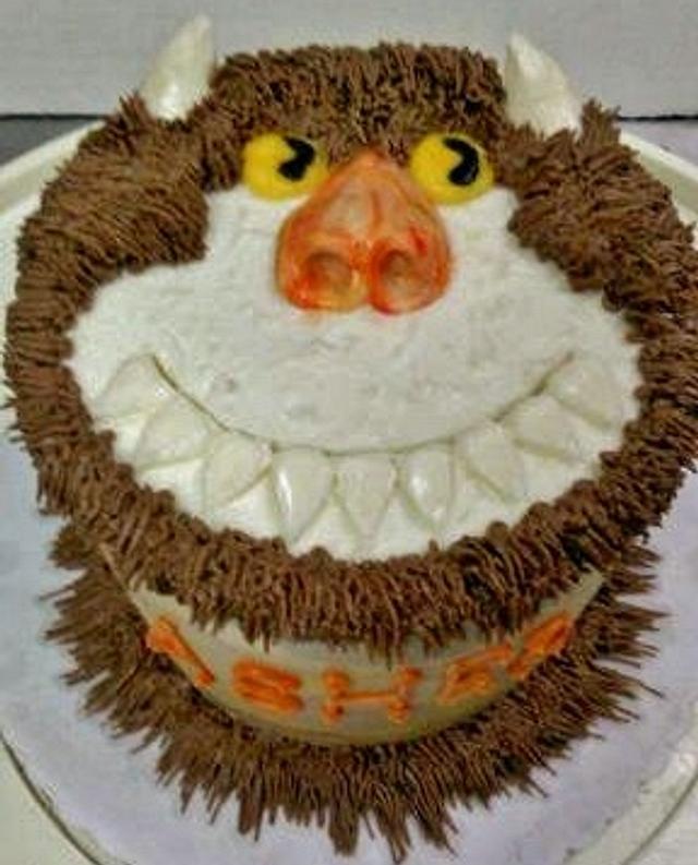 Wild thing cake buttercream