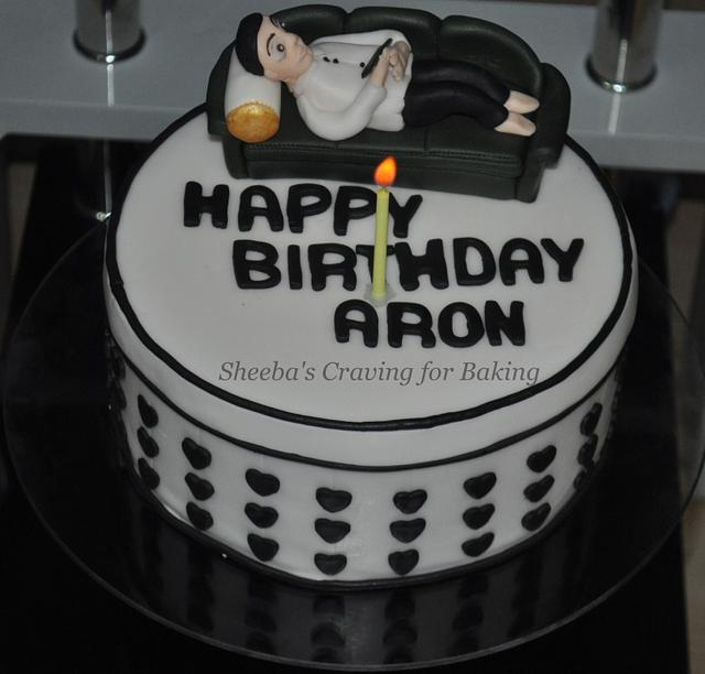 Marvelous Birthday Cake For My Husband Cake By Sheebas Craving Cakesdecor Funny Birthday Cards Online Fluifree Goldxyz