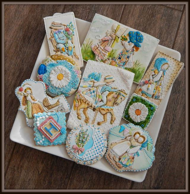 Holly Hobbie Cookies