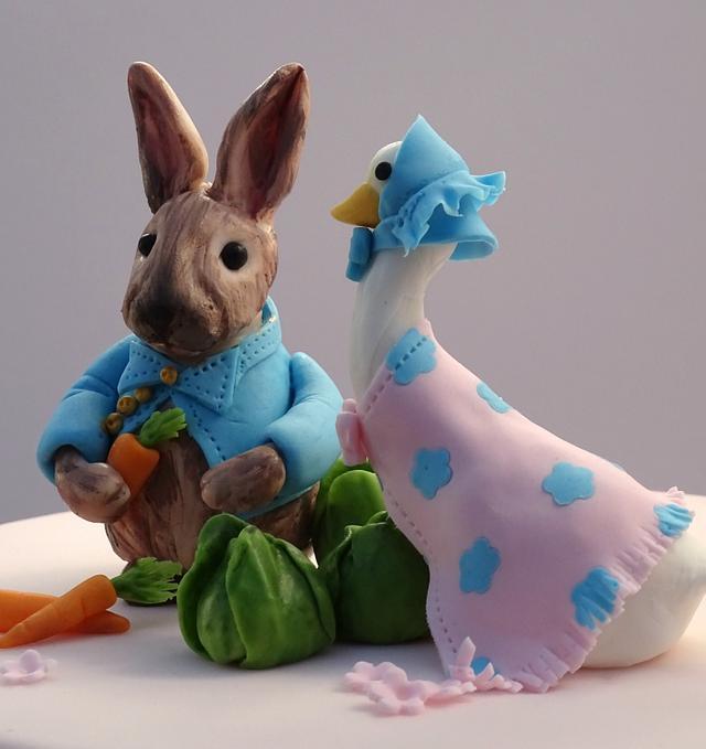 Beatrix Potter First Birthday