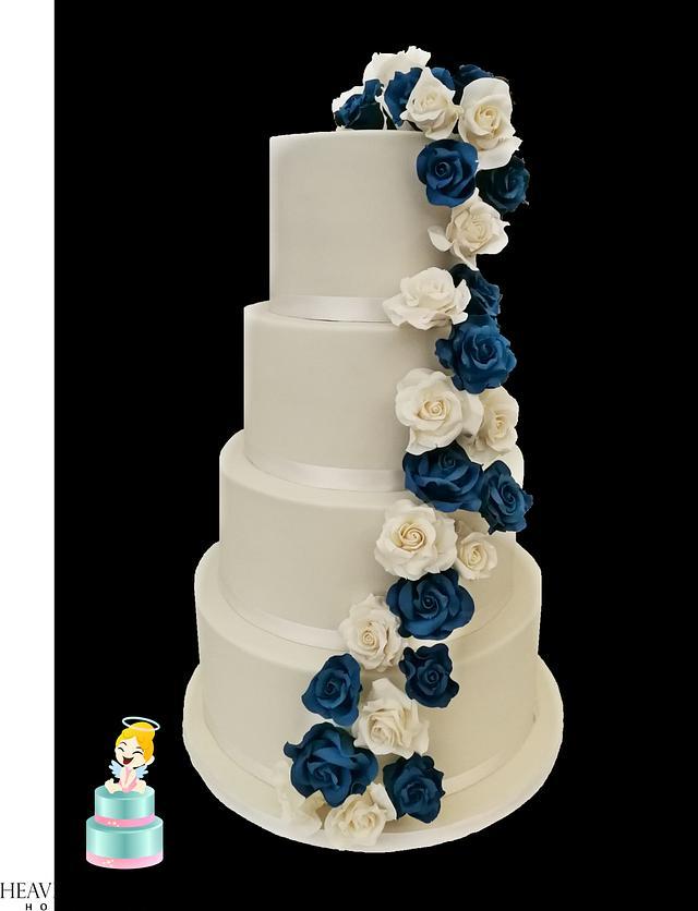 Wedding Rose Cake !