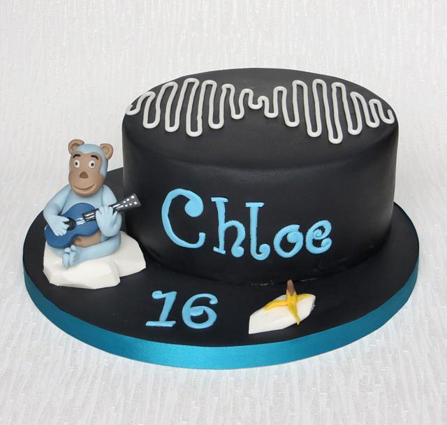Arctic Monkeys Birthday Cake