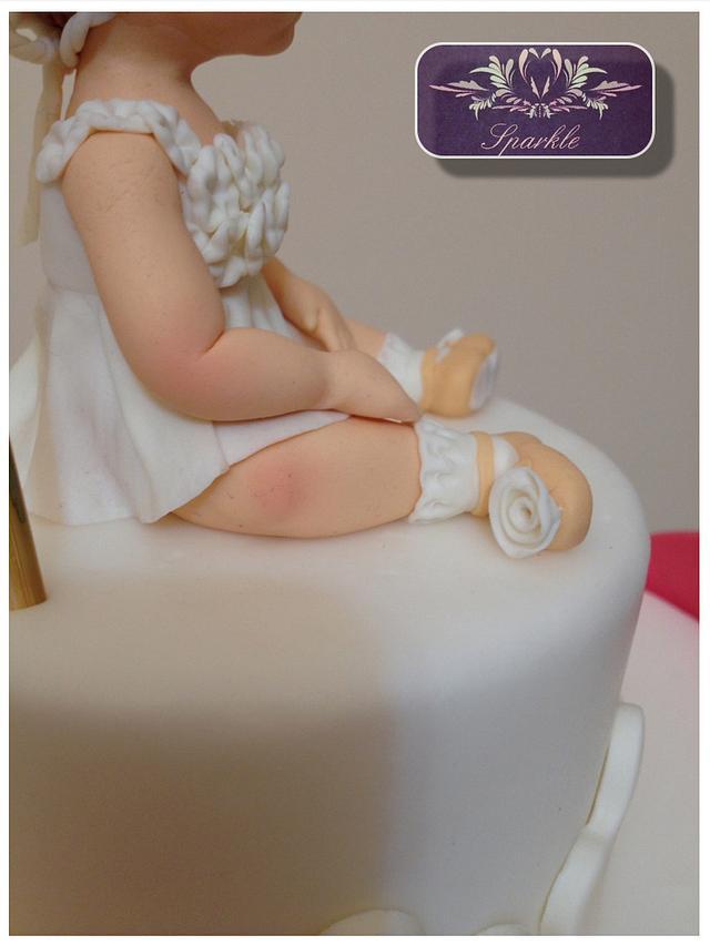 Aurora's christening cake