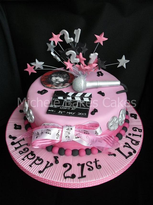 Music and Theatre Cake