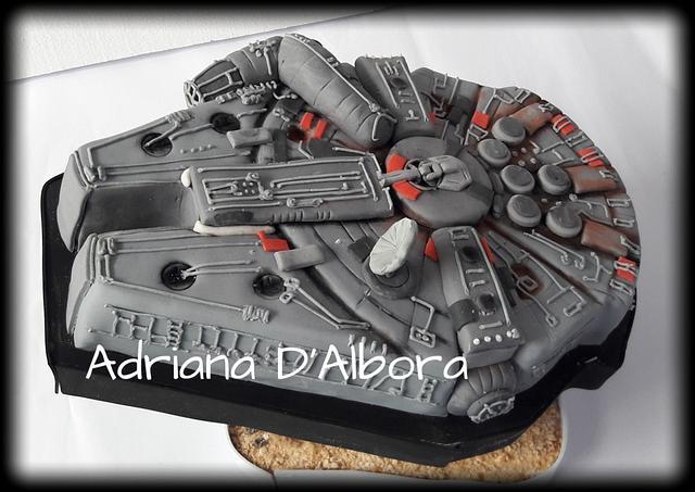 Millenium falcon spaceship STARWARS