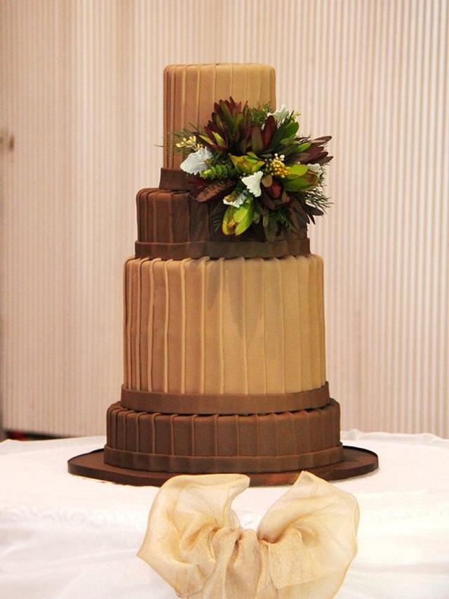 Australian Chocolate Wedding Cake