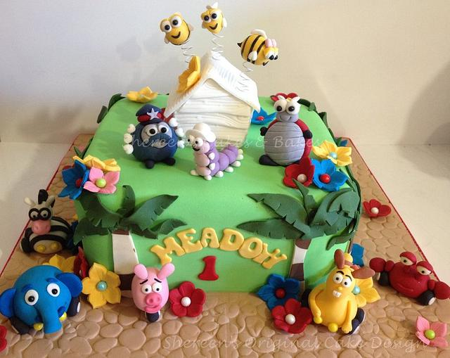 Jungle Junction/Hive Cake