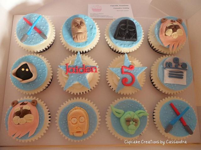 Star Wars theme Cupcakes