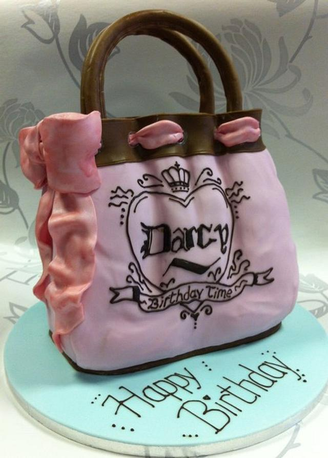 Couture Purse Cake