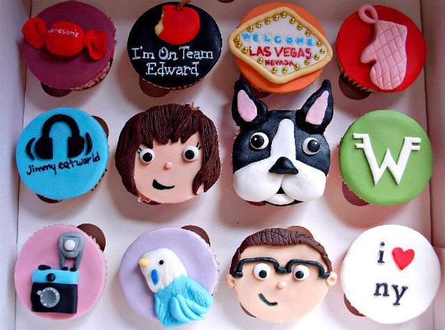 Louise's Favorite Things Cupcakes