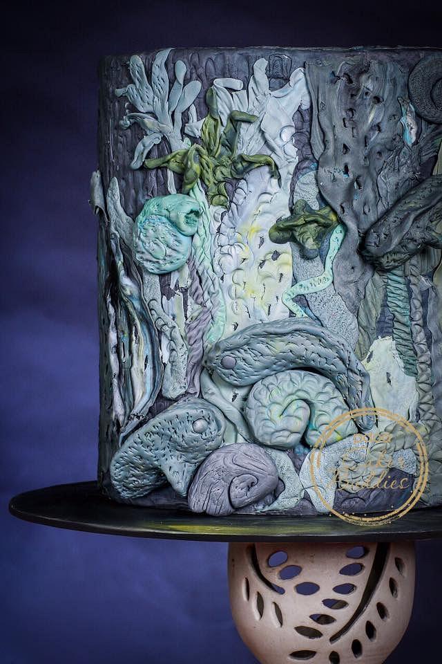 Cakerbuddies Pottery theme collab