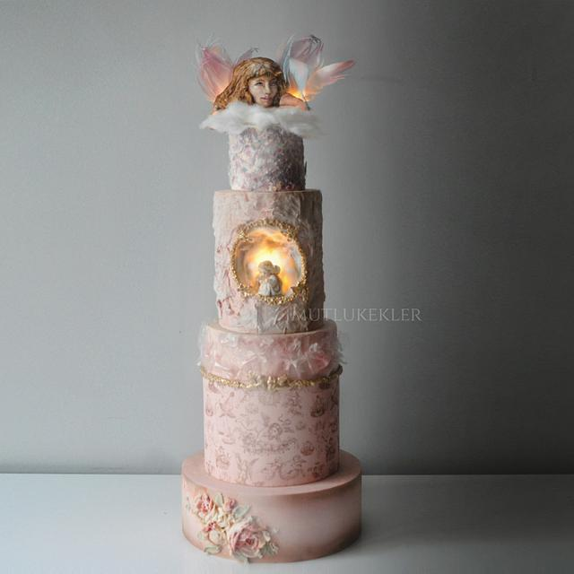 Angel Theme Cake