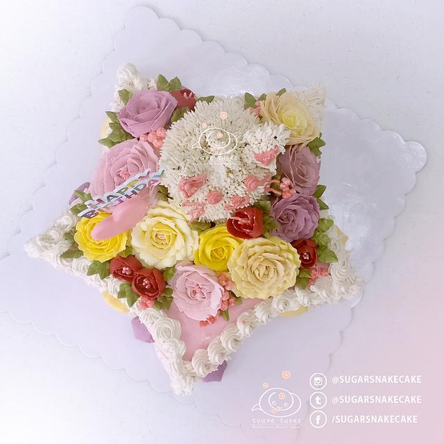 Starry Flowercake