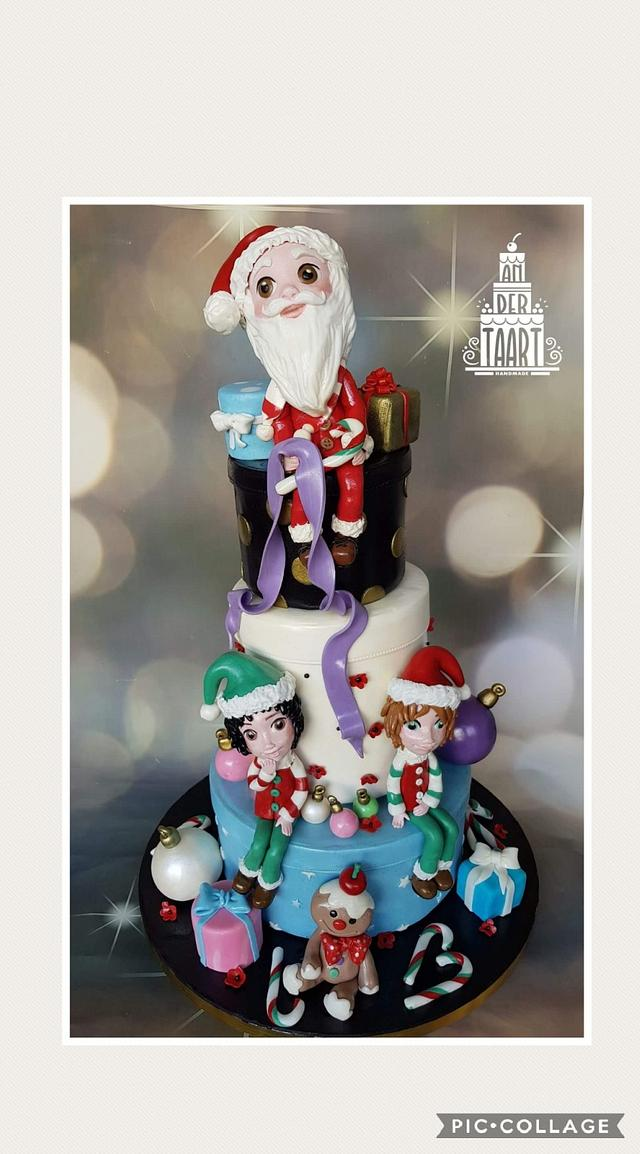 My participation in the Collaboration: Believe in the magic of christmas: