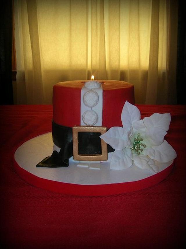 Santa Candle
