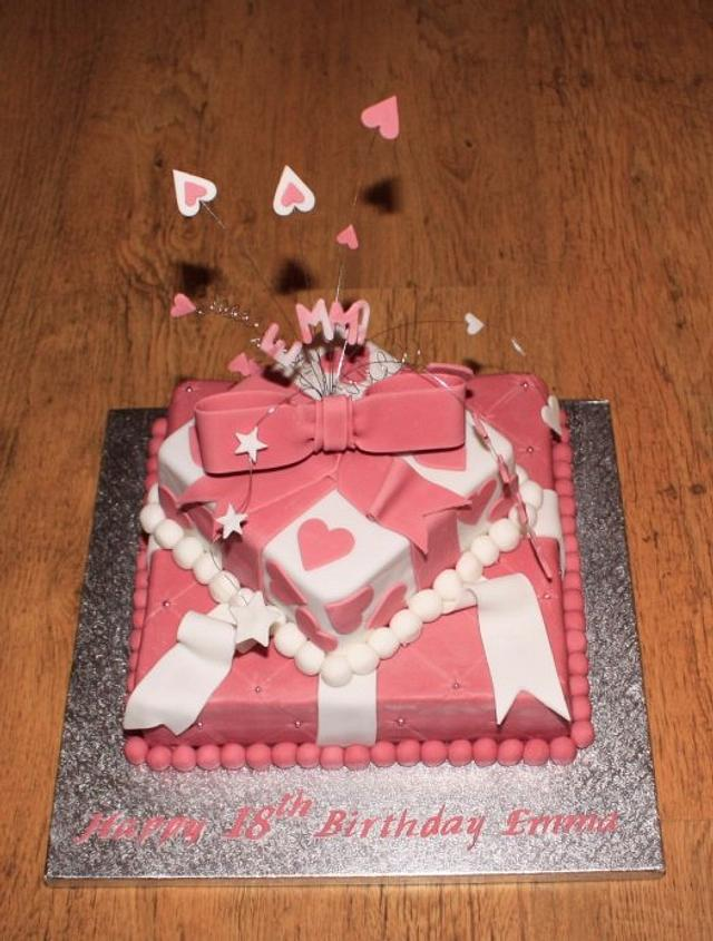 Pink Parcels, Ribbon and Bows