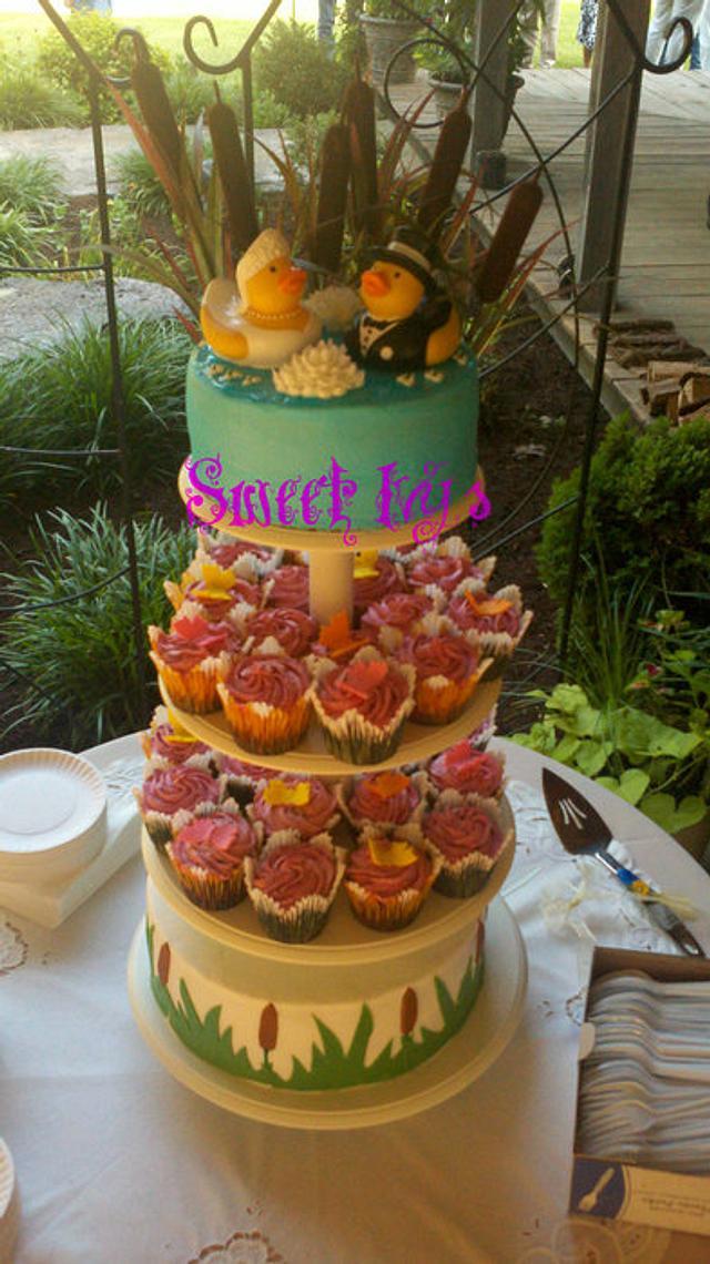 Duck Wedding Cake